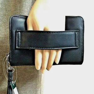❤️Zip Wallet W/Photo/ Cellphone carrier Wild Fable